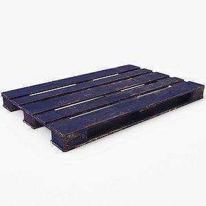 wood pallet 3D model