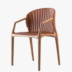 3D model Luisa Chair Estudio Bola