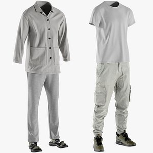 realistic clothing collections 3D