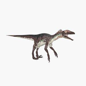 3D Utahraptor model