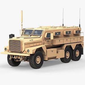MRAP Cougar 6x6 3D model
