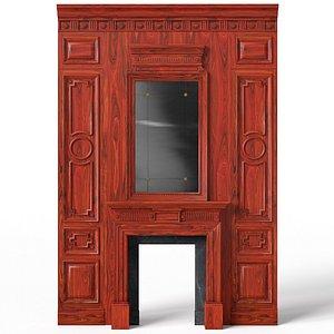 Fireplace 01 04 3D