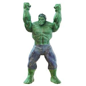 3D Superhero Hulk Toy