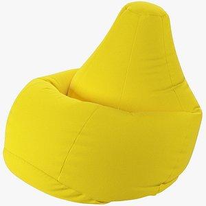 Bean Bag Chair V3 3D model