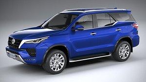 3D Toyota Fortuner v2 2021