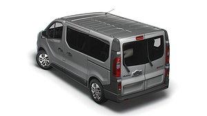 renault trafic minibus 3D model