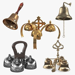 Cathedral Bells Collection 4 3D model