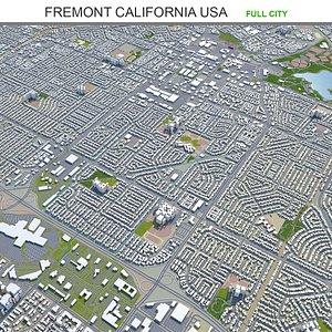 Fremont California USA 3D model