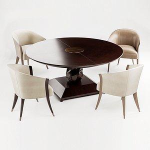 delilah chair table 3D model