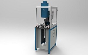 3D model riveting machine