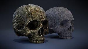 Aztec Skull model