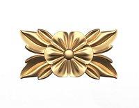 Rosette Carved Decoration CNC 013