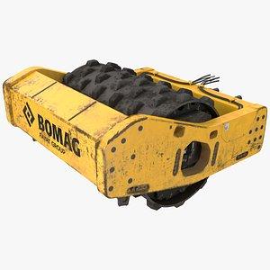 3D BOMAG Soil Roller Barrel
