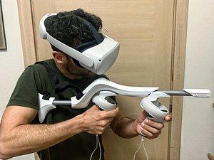 Elixe VR Gunstock 3D model