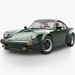 Porsche 930 Turbo 1975 3D model