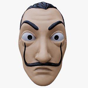 salvador dali mask 3D model