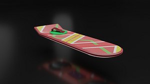 hoverboard future ii 3D model
