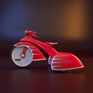 Vintage trike 3D model