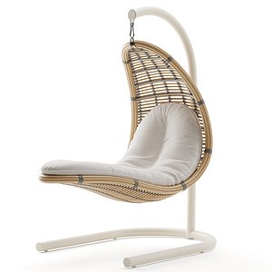 christy hanging chair 3D model