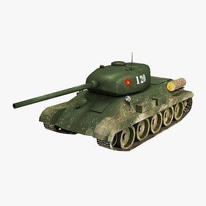 3D tank t-34 soviet