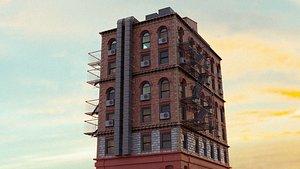 3D model Brooklyn Inspired Building