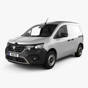 3D Renault Kangoo Van 2021 model