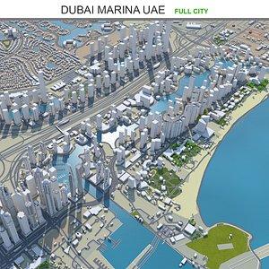 3D Dubai Marina UAE