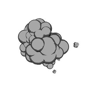 3D toon smoke