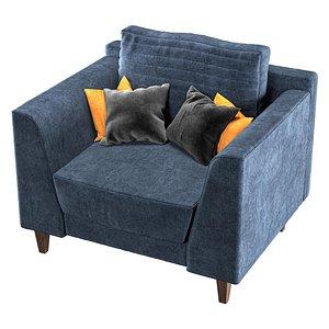 3D sofa vol 01- model