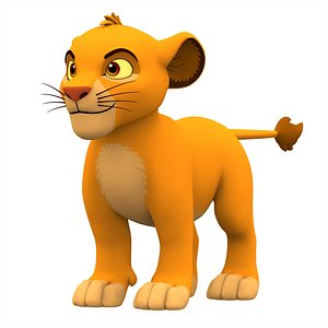 Simba Cub model