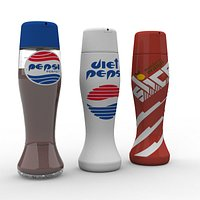 Hill Valley 2015 – Pepsi Perfect, Diet Perfect, Slice bottles