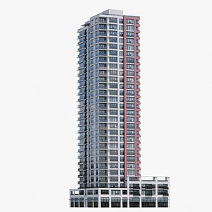 3D Vancouver Apartments V2