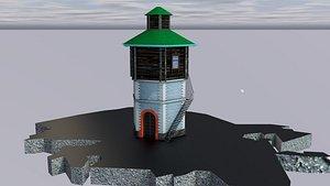 3D Water Tower Ekaterinburg