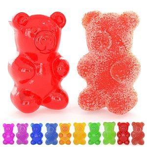 gummy bear sugar 3D model