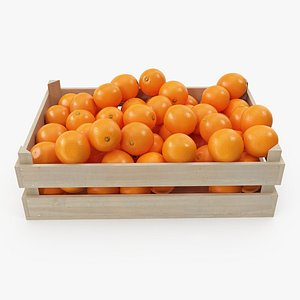 04-06 wooden crate oranges model