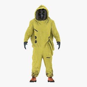 3D Hazmat Suit NBC