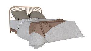Bed-001 3D model