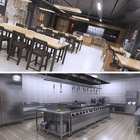 Food Court and Commerical Kitchen