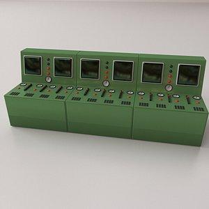 3D Control Center