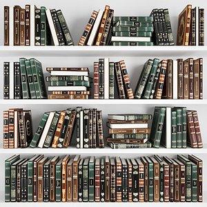 classic books 3D model