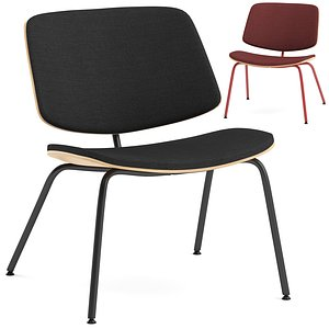 3D True Tao lounge chair model