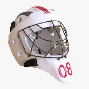 3D goalie goal keeper model