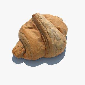 3D model Croissant Butter