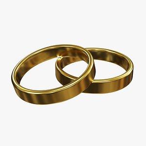 wedding ring 3D