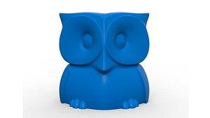 3D model owl