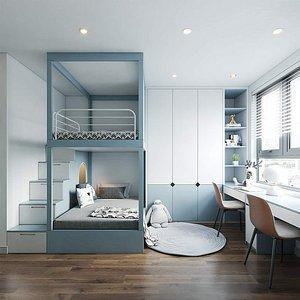 3D model Apartment Interior