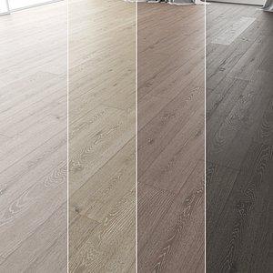 3D model Wood Floor Set 13