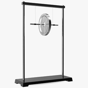 Maxwell Wheel Pendulum 3D model