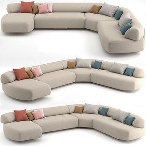 3D model sofa 04