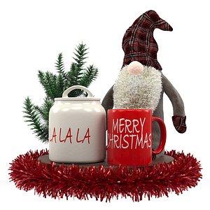 christmas decor 3D model